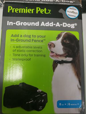 Premier Pet In-Ground Add-A-Dog collar 4 Adjustable levels of Static GIG00-16920 for Sale in Casselberry, FL
