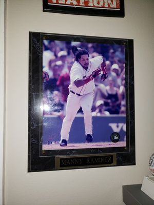Manny Ramirez Red Sox Plaque for Sale in Deerfield Beach, FL