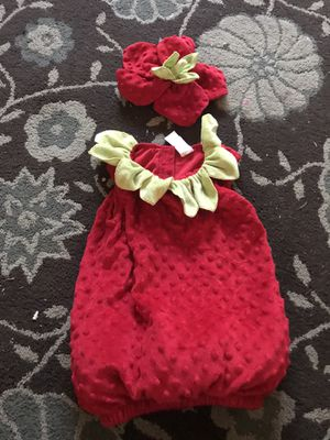 Strawberry costume for toddler for Sale in CA, US