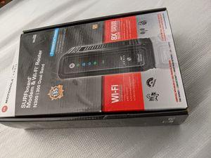 Motorola Surfboard Modem & Wi-Fi Router SBG6580 for Sale in Lacey, WA