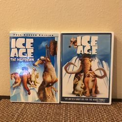 Ice Age Set Of 2 DVD Full Screen By 20th Century Fox for Sale in Clermont,  FL
