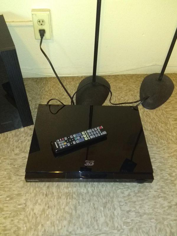 Samsung 3d dvd bluray 1000 watts suround sound systen
