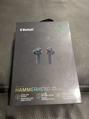 Brand New Sealed Razer Hammerhead true wireless Bluetooth headphones for Sale in Lorton, VA