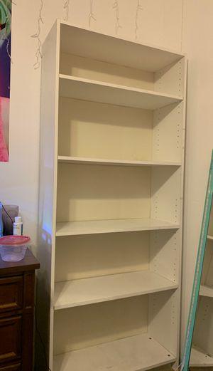 5-shelf Stand Alone Bookcase for Sale in Phoenix, AZ