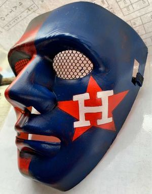 Astros mask Halloween for Sale in Houston, TX