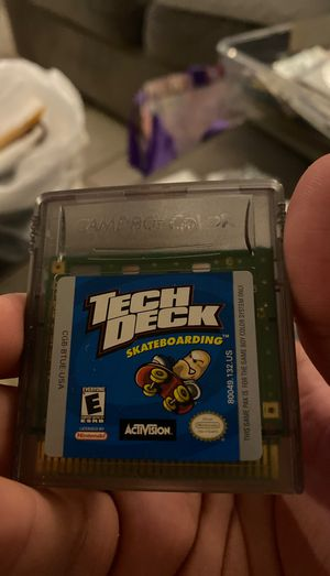 Tech deck game boy color for Sale in Upland, CA