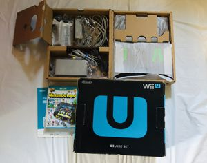 Nintendo Wii U complete in box for Sale in Long Beach, CA