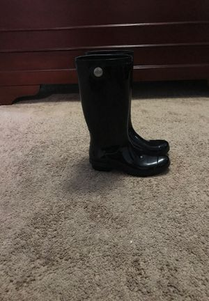 Ugg rain boots size 7 women for Sale in San Pablo, CA