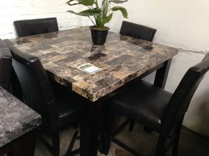 Pub dinning table with 4 chairs for Sale in Baltimore, MD