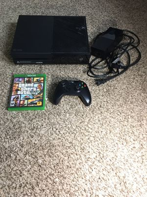 Xbox One with Controller and Game Like New for Sale in Parma, OH