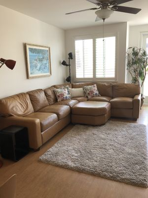 Leather Sectional Couch for Sale in Oakland, CA