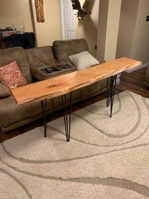 Live Edge Cherry Sofa Table for Sale in Aliquippa, PA