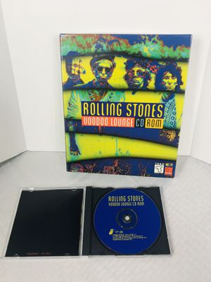 Rolling Stones Voodoo Lounge CD ROM for Sale in Pawtucket, RI