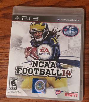 NCAA14 PS3 for Sale in Baton Rouge, LA