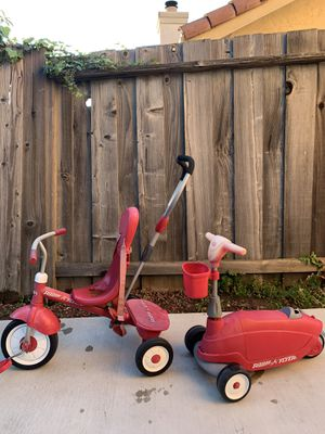 Radio Flyer Trike & Scooter Set for Sale in Union City, CA