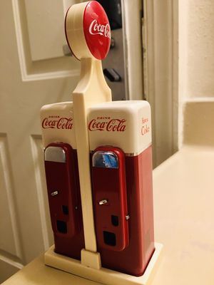Vintage Coca Cola salt and pepper shakers for Sale in Raleigh, NC