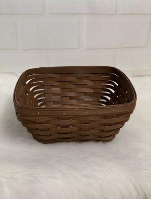 Longaberger Darker Brown Small Bread Basket for Sale in Honolulu, HI