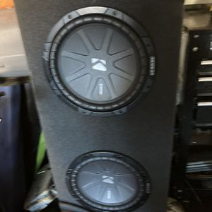 """Kicker Woofers 10"""" With Box for Sale in Rancho Dominguez, CA"""