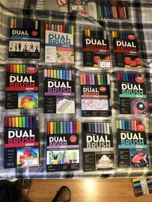 Dual brush markers bundle deal!! 4 for 1! $20/4 for Sale in Columbia, CT