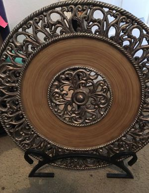 Extra large decorative plates for Sale in Clovis, CA