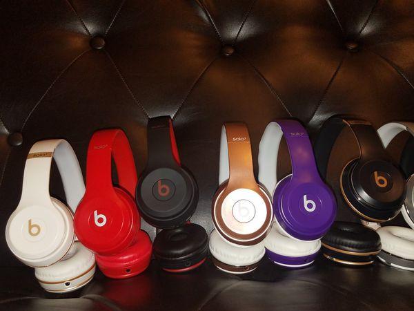 Beats Solo3 Wireless Headphones White/Gold