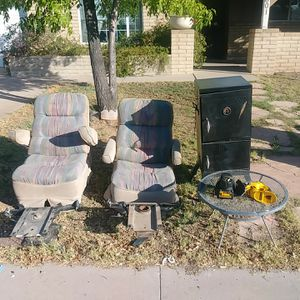 RV seats and bases - electric driver's for Sale in Glendale, AZ