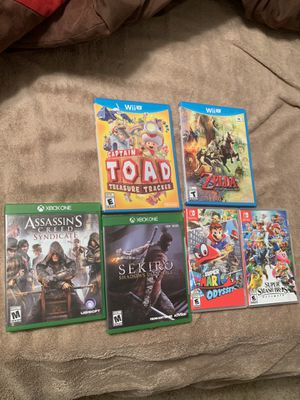 Xbox one, Wii U, and Nintendo Switch Games for sale! for Sale in Crestview, FL