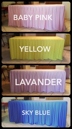 table skirts for Sale in Fontana, CA