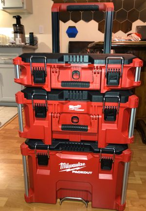 Milwaukee Packout Portable Tool-Box Storage Rolling-Wheeled Cart Chest Organizer BRAND NEW! for Sale in Piedmont, CA