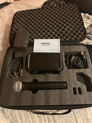 Shure microphone for Sale in Bridge City, TX