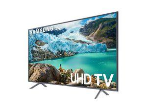 "Samsung 75"" Smart 4K (2160p) UHD TV - Charcoal Black (UN75RU7100FXZA) for Sale in Gastonia, NC"