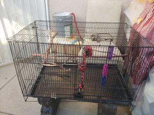 Squared black bird cage for Sale in Fullerton, CA