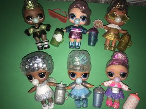 Lol winter disco dolls lot of 6 for Sale in Portland, OR