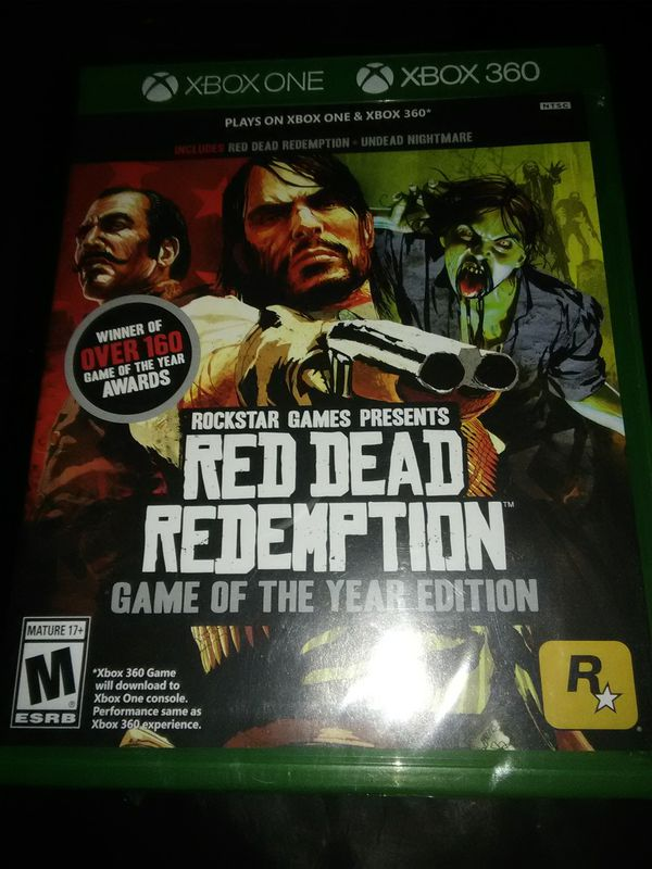 Red Dead Redemption,new in package, for Xbox one or Xbox 360