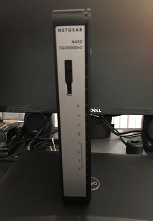 Netgear N450 WiFi Cable Modem/Router for Sale in Sully Station, VA