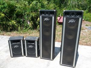 Peavy speakers for Sale in Sebring, FL