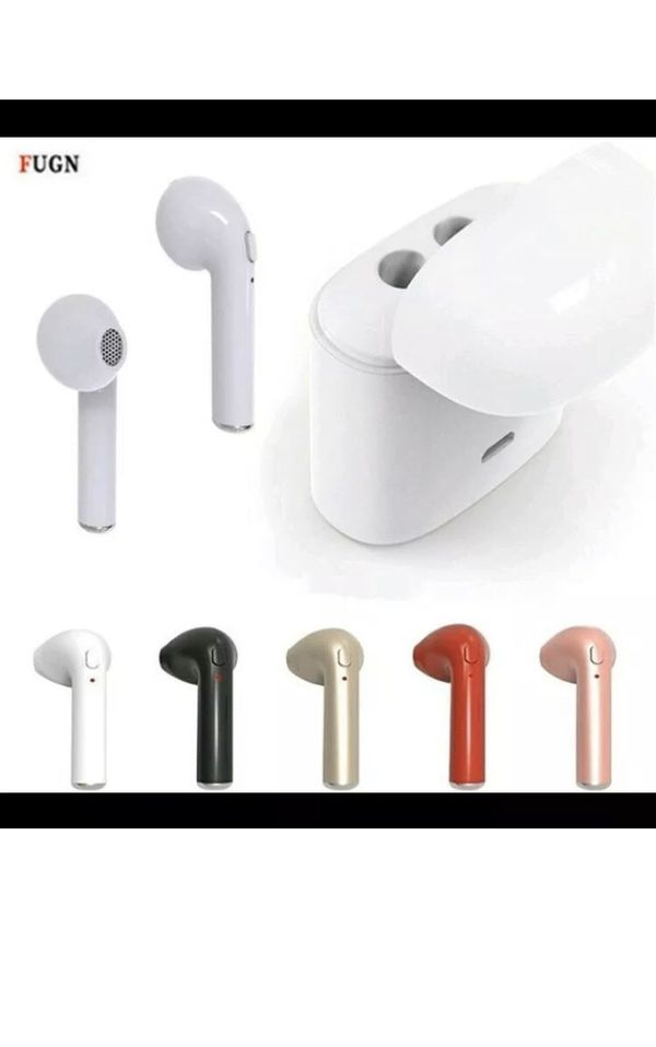 New I7s wireless headphones earbuds Bluetooth audiculares