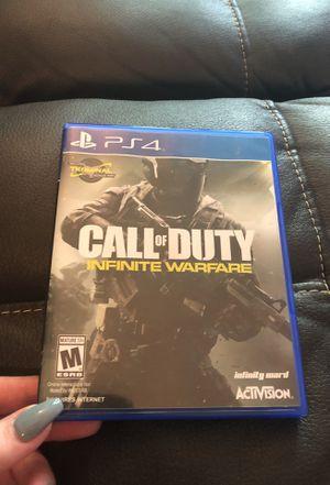 Call of Duty Infinite Warfare PS4 includes terminal bonus map for Sale in Lake Stevens, WA
