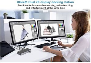 USB Docking Station / Dual Monitor for Sale in New York, NY