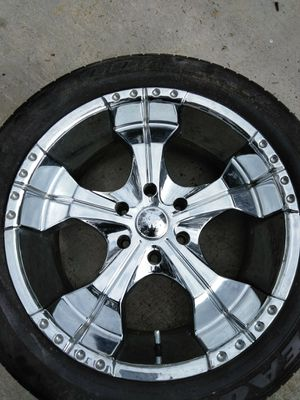 1 20 inch chrome truck rim for Sale in Ardsley, NY