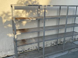 Metal shelves for Sale in San Leandro, CA