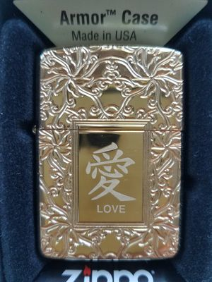 Zippo chinese love armor 49022 for Sale in Los Angeles, CA