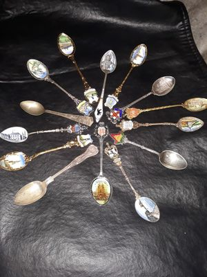small collector spoons for Sale in San Jose, CA