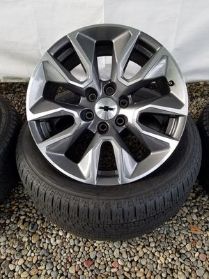 Chevy GMC 20inch OEM Wheels for Sale in Tacoma, WA