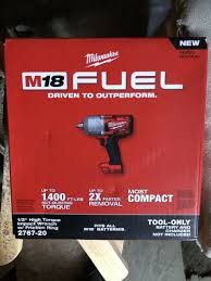 Milwaukee fuel 1/2 impact wrench for Sale in Seattle, WA