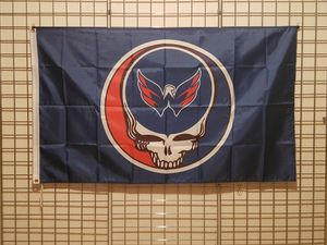WASHINGTON CAPITALS 3FTX5FT GRATEFUL DEAD NHL LOGO FLAG *NEW🔥 for Sale in Manassas, VA