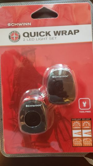 Schwin bike led.lights pair total 4 lights brand new for Sale in Falls Church, VA