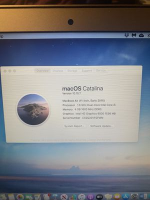 MacBook Air 1.6GHz (11inch 2015) for Sale in Plantation, FL