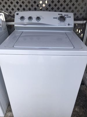 Kenmore Brand Washer and Dryer Used in Very Good Technical Condition for Sale in Greenacres, FL