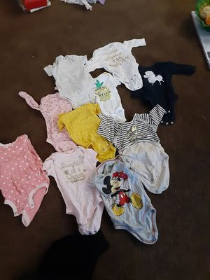 0-3m girl clothes (61 pieces) for Sale in Milford Mill, MD